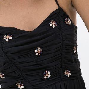 Zara Pants - Zara Embellished Halter Jeweled Jogger Jumper